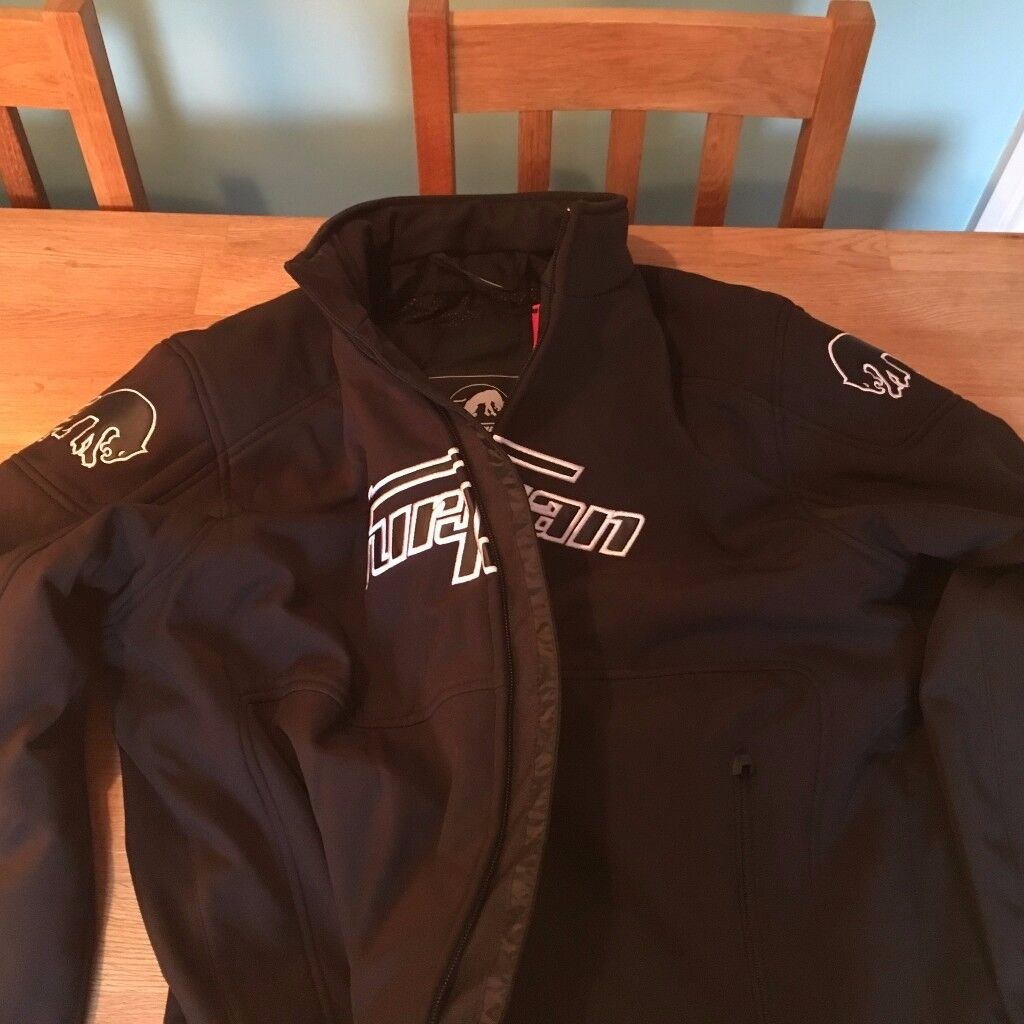 BRAND NEW MENS FURYGAN GROOVE PROTECTIVE/MOTORCYCLE JACKET!!BLACK*** MUST GO TAKE A LOOK!!!