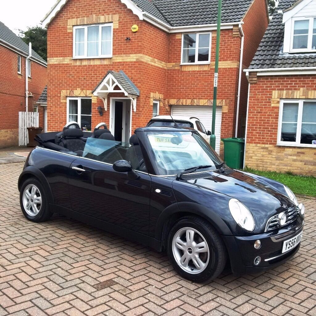 MINI ONE 1.6 CONVERTIBLE, BLACK, MOT 12 MONTHS, FULL SERVICE HISTORY