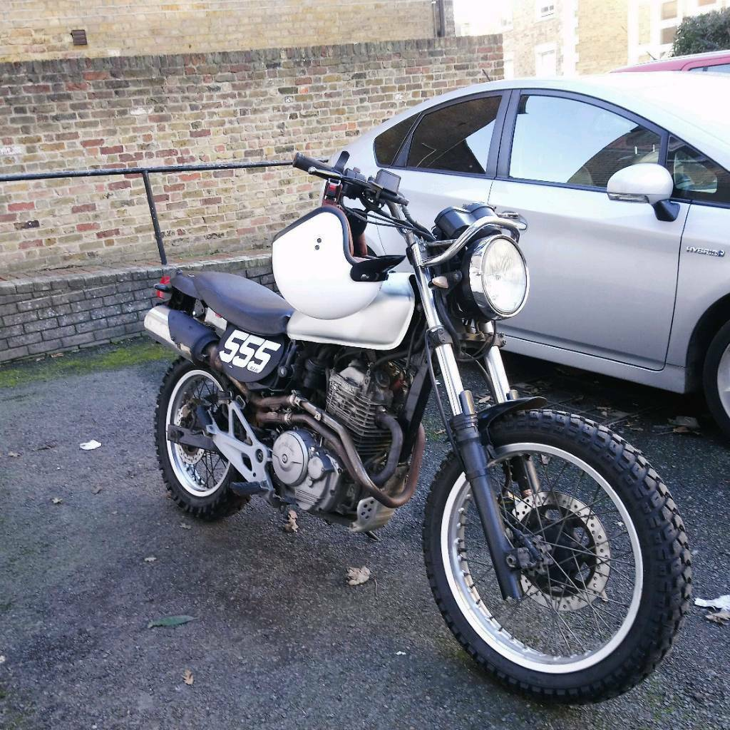 honda slr 650 scrambler in norwood london gumtree. Black Bedroom Furniture Sets. Home Design Ideas