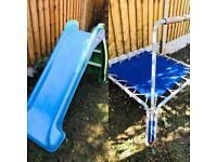Toddler Slide & Trampoline