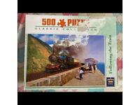 Steam train 500pc jigsaw puzzle