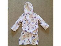 Hello Kitty Girls Dressing Gown age 4-5 years