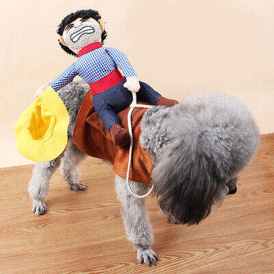 Nettes Haustier Abendkleid Western Cowboy Reiter Ritter Cosplay - Hund Western Kostüm