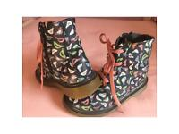 Girls DM style boots