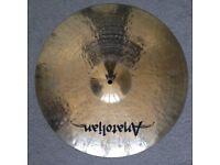Anatoljan Jazz Cymbal 20in - virtually unplayed
