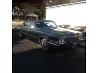 1969 sedan devile Cadillac
