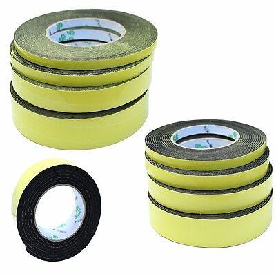 Dichtband Dämmband Zellkautschuk Moosgummi 2m 5m 10m 1mm 2mm 4mm selbstklebend
