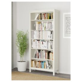 White Ikea Bookcase Hemnes Book Shelf - Very Good Condition Bookcase (Collection Clapham, London)