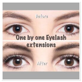 One by One Eyelash Extensions