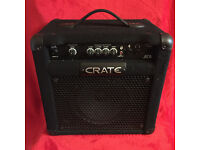 CRATE BT15 Bass Guitar Practice Amplifier