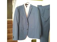 Men's Royal Blue Suite for Sale. Only worn once!
