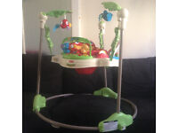 Fisher Price Jumperoo Baby Bouncer Rainforest