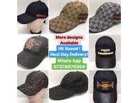 2 for £60 Gucci Hats Armani Caps Fendi Versace Prada Tshirts designer t-shirts clothing london cheap
