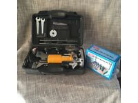 Electric Router Machine with a 15 Piece Bit Set