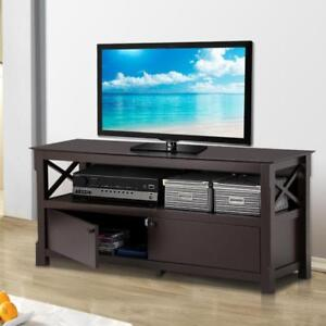 TV Stand Entertainment Center Furniture Console Media Storage Cabinet Home Shelf - BRAND NEW - FREE SHIPPING
