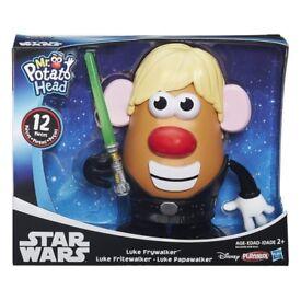 STAR WARS Mr Potato Head Luke Frywalker DISNEY PLAYSCHOOL 12 PIECES