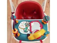 Mamas & Papas Baby Bud Booster Seat &play tray