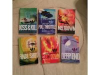 6 Sam Hutton Special Agents series of books