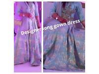 Designer gown dress,latest design ,unique,was £1500 new