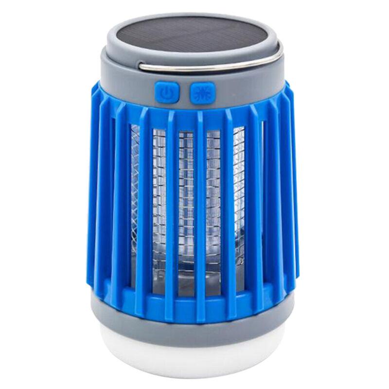 USB Charging Solar Power Fly Pest Bug Mosquito Killer Led UV Lights Zapper