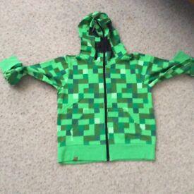 Mine craft hoodie