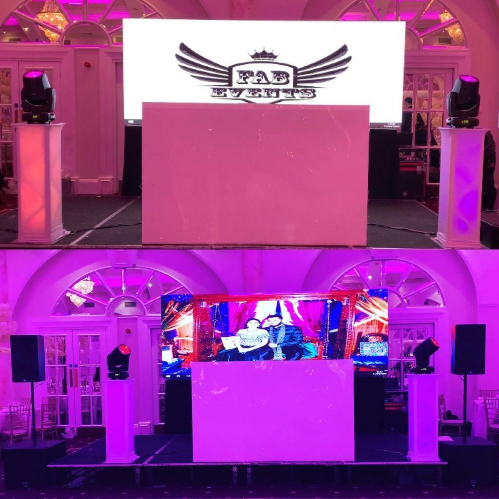 Professional Dj Lighting Screens Hire Led Dance Floor