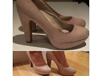 Size 8 Nude High Heels