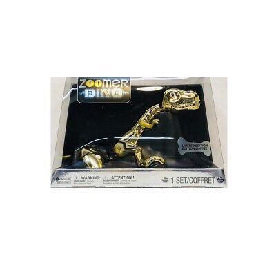 New Zoomer Dino Gold Limited Edition   0004 5000  Interactive Robotic Dinosaur