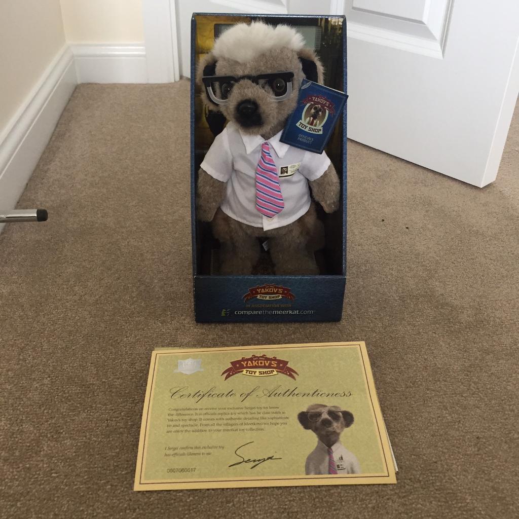 Sergei meerkat toy