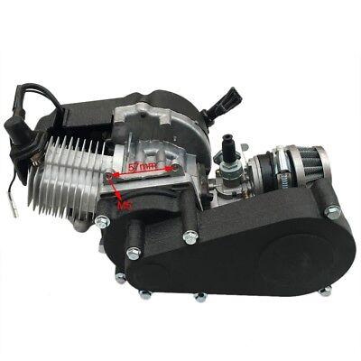 49cc Engine Motor & Transsmion for Mini Pocket Motorized ATV Bicycle Scooter US ()