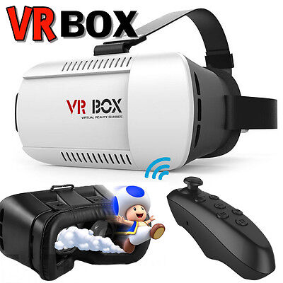 Vr Box Virtual Reality 3D Glasses Google Headset For Iphone 6 6S Plus  Gamepad