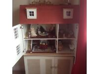 Dolls house and all furniture electric lights etc