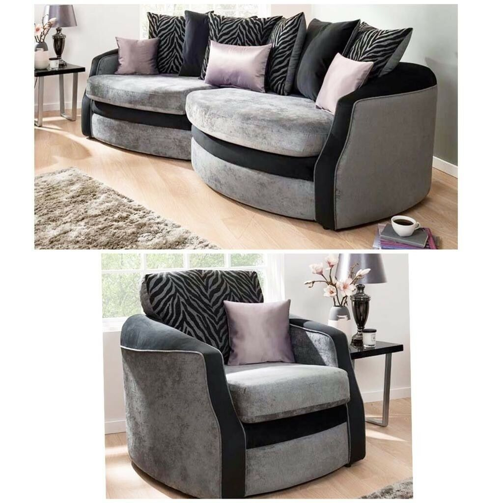 Brand New Olivia Snuggle Sofa Extra Chair Free Delivery