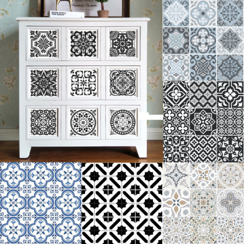 Home Decoration - Kitchen Tile Stickers Bathroom Tile Mosaic Stickers Wall Art Sticker  Home Decor