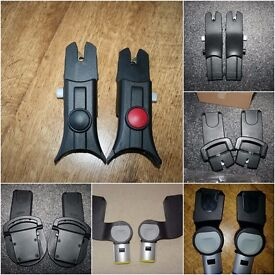 Pram car seat ADAPTERS (iCandy, Mamas and Papas, Silver Cross, Oyster) *can post*