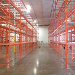 New And Used Pallet Racking, Industrial Shelving, Cantilever, Mezzanine, And Other Warehouse Equipment For Sale