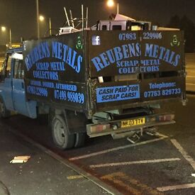 Scrap metal collectors covering West Yorkshire(WE ALSO BUY SCRAP CARS/VANS/MOTORBIKES FOR CASH!!