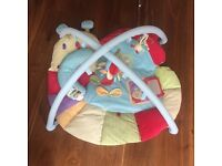 Soft padded snail play mat as new in box
