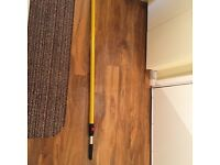 Extension paint roller pole 2.4m