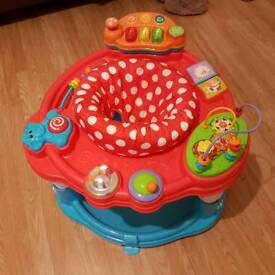 Baby activity center delivery