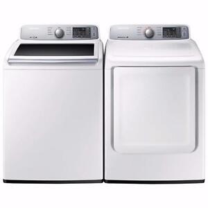 27'' White Washer Dryer Combo, Samsung