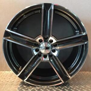**PROMOTION** MAGS NEUFS 17'' 4 X 100 / 17'' 4 X 114.3 HD WHEELS PYPZ GLOSS BLACK