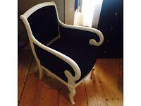 Chabby chic armchair