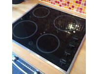 Zanussi Electric Ceramic Hob & Hotpoint Built Under Oven