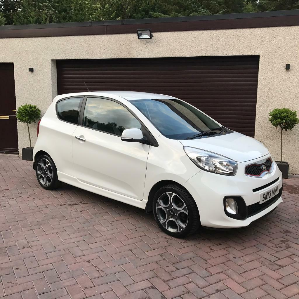 Kia Picanto 2 5 Door Hatchback: 2013 Kia Picanto 1.25 White Edition Ecodynamics, 3Yrs