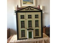 Home Made Dolls house with extras