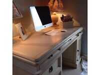 New England Style Shabby Chic Solid Wood Desk