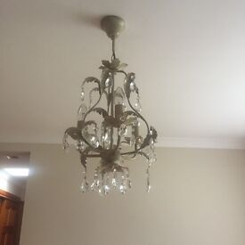 Cream Chandelier for Lounge or Bedroom