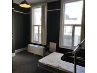 E2 - Large bright Studio to Let vibrant Kingsland Road - Furnished - PRIVATE LANDLORD