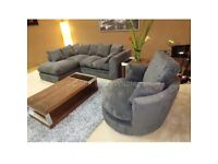 DYLAN CORD SOFA ON SALE LIMITED OFFER ORDER NOW AVAILABLE IN 3+2 AS WELL